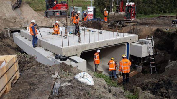 Vernieuwen spoorbrug Bleijswijkervaart